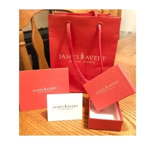 BAG CARD AND TISSUE SET JAMES AVERY GIFT BOX